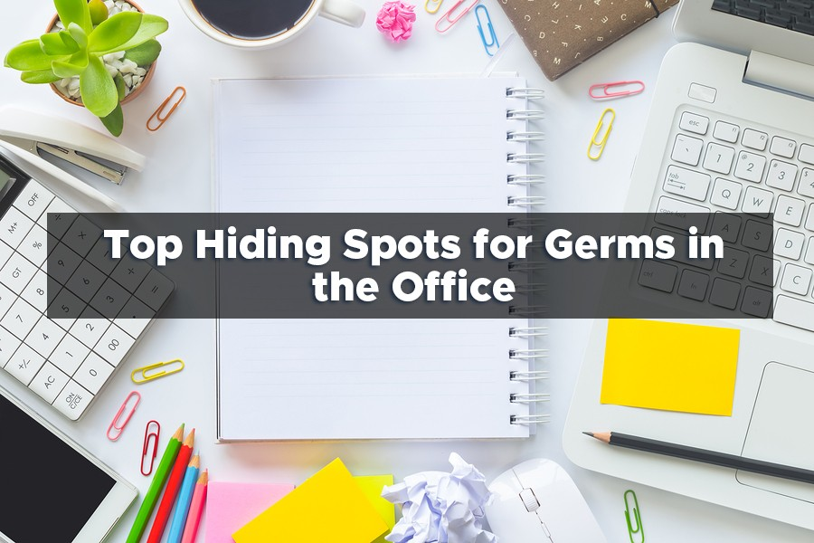Top Hiding Spots for Germs in the Office