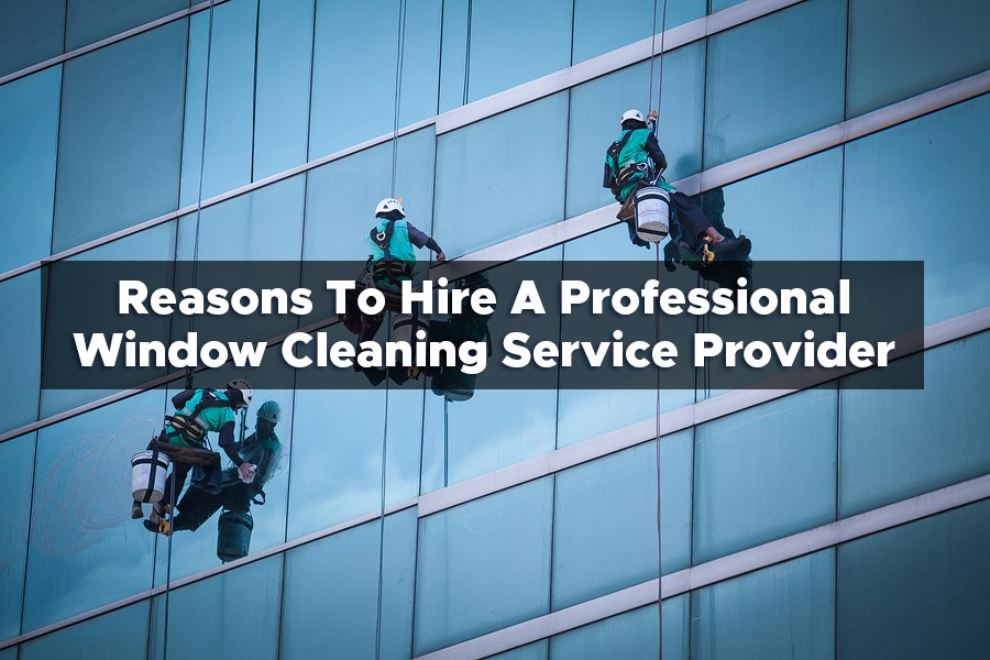 Reasons To Hire A Professional Window Cleaning Service Provider